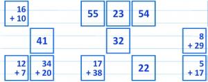 Obrázek hry Math Mahjong