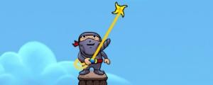 Obrázek hry Ninja Rope Jump