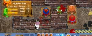 Obrázek hry Super Heroes Tower Defence