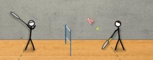 Obrázek hry Stick Figure Badminton